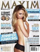 Jennifer Hawkins - Maxim Australia August 2011