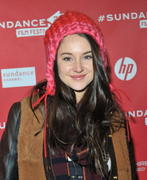 Shailene Woodley - The Spectacular Now premiere at Sundance 01/18/13