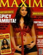 Amrita Arora - Maxim India June 2006