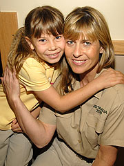 th 23398 bindi irwin 122 350lo Crocodile Hunter star Steve Irwins wife still adjusting life without him
