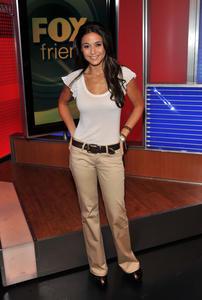 White top & Grey pants