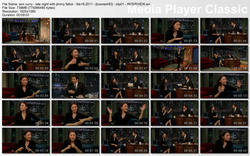 "ANN CURRY - ""Late Night with Jimmy Fallon"" - (February 18, 2011) - *Interview, LegFlash, & Funny Game"""